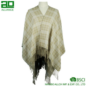 Light Color Fashion Women Shawls Winter Capes pictures & photos