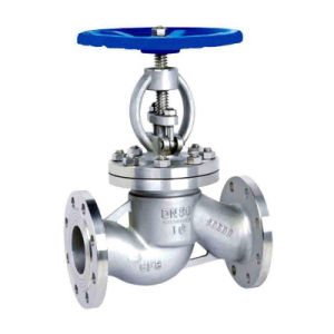 DIN Standard Pn16 Flange End Wcb Body Globe Valve pictures & photos