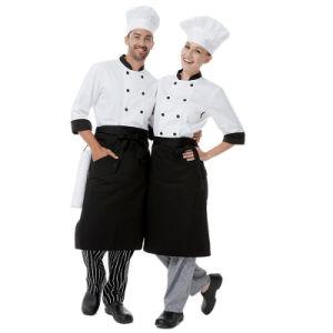 New 100% Cotton Hotel & Restaurant Chef Uniform pictures & photos