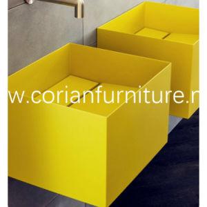 Acrylic Solid Surface Bathroom Corian Basin pictures & photos