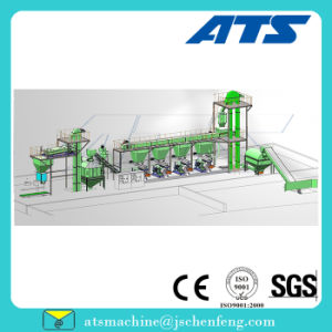 Ce Quality Ring Die Pellet Production Line for Wood Powder Pellet Making pictures & photos