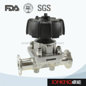 Stainless Steel Sanitary Tank Outlet Diaphragm Valve (JN-SPV2015) pictures & photos