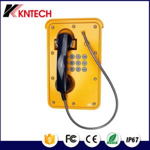 Multifunction Marine Phone Knsp-09 IP67 Robust Telephone Aluminium Alloy Phone pictures & photos