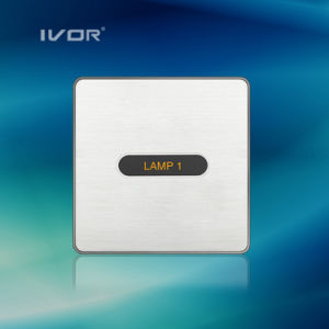 1-6 Gangs Light Switch LED Light Switch Touch Panel Aluminum Alloy Material (ID-ST1000K-CAN) pictures & photos