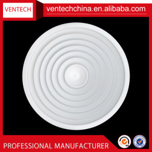 Adjustable Air Diffuser with Damper Round Ceiling Diffuser Air Conditioning Diffuser pictures & photos
