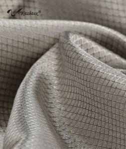 Scn001 Functional Textile Silver Coated Nylon Woven Material Fabric pictures & photos
