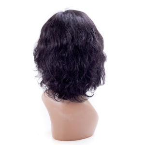 Natural Color Medium Size Lace Front Wig Curly Hair pictures & photos