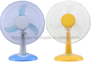 "16"" AC DC Fan Electric Desk Fan 15W pictures & photos"