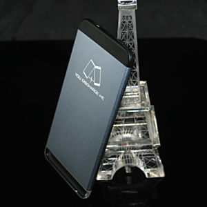 Crystal Light Ray Carve Logo Mobile Power Bank 5000-20000mAh Powerbank pictures & photos