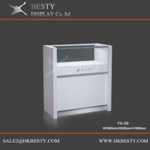 Customized Simple Jewelry Display Counter Showcase with Logo pictures & photos