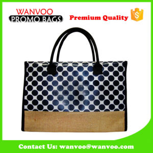 Customized Fashion Promotional Cotton Bag Canvas Tote Shoulder Handbag for School & Beach pictures & photos