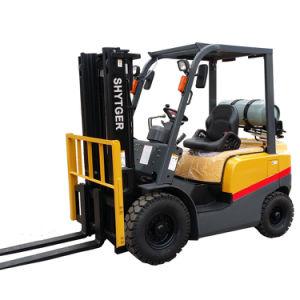 LPG Gasoline Dual Fuel Forklift Diesel 2.5ton Fork Lift (FG25T) on Sale pictures & photos
