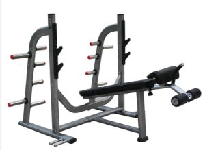 Strength Commercial Gym Equipment/Olympic Decline Bench pictures & photos