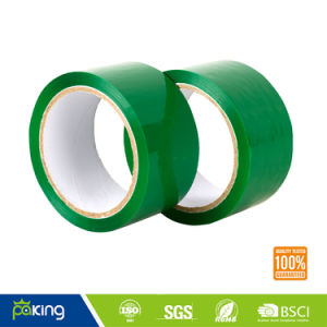 66m Green Low Noise Packing Tape Without Noise Pollution pictures & photos