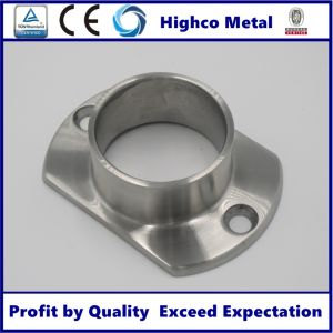 Wall Mount Oblong Handrail Base Flange (C-002) pictures & photos