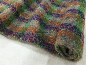 Stock Wool Fabric Colorful Check Style pictures & photos