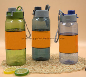 Custom Logo Eco-Friendly Plstic Sport Water Bottle with Filter pictures & photos
