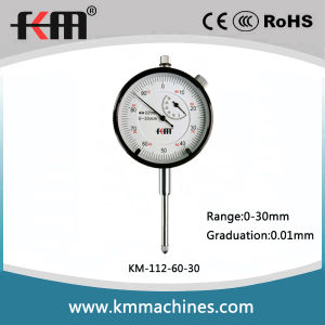 Precision 0-30mm Dial Indicator with 0.01mm Graduation pictures & photos