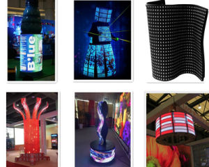 Full Color Flexible LED Display for Indoor Fixed Installation pictures & photos