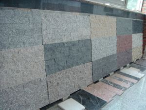 Indoor/Outdoor White/Grey/Red/Black/Yellow Granite/Slate/Cement Granite Wall Stone Wall Rock Culture Stone pictures & photos