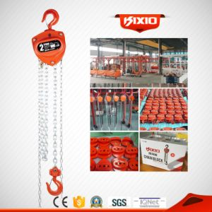 2t Green Colour Manual Chain Hoist with G80 Chain pictures & photos