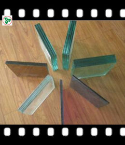 4.38-12.38mm Clear and Colored Safety Laminated Glass for Building pictures & photos