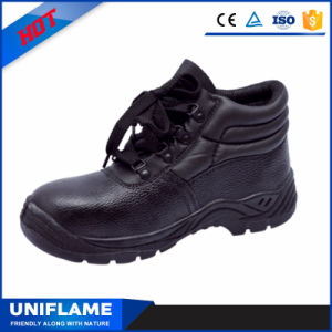 Middle Cut Leather Men Safety Shoes Ufb007 pictures & photos