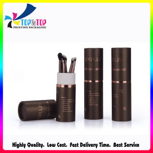 Luxury Hot Stamping Logo Paper Tube Box pictures & photos