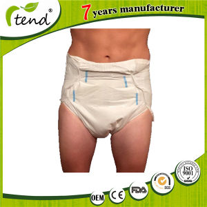 Disposable Printed Adult Baby Print Abdl Diapers for Adults All White pictures & photos