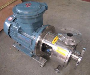 Stainless Steel Pipeline Homogenizing Emulsion Pump pictures & photos