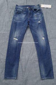 10.1oz Worn Denim Trousers for Men (HS-28401T#) pictures & photos