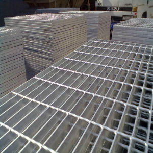 Steel Grating Welded with Round Bar pictures & photos