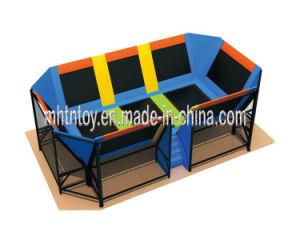 Adventure Equipment Indoor Trampoline for Kids (HF-19702) pictures & photos