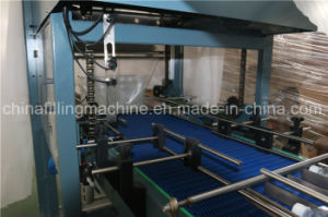 Automatic Bottles Film Shrinking Wrapping Machinery pictures & photos