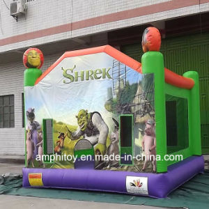 Inflatable Shrek Jumping Trampoline Kids Inflatable Mini Jumper pictures & photos