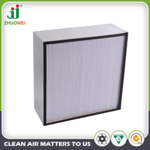 H13 Sized Paper Separator HEPA Air Filter pictures & photos