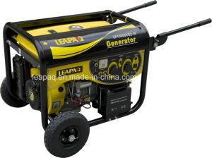 5.0kw Wheels & Handle Y-Type Portable Gasoline Generator pictures & photos