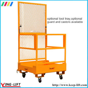 Crane Work Platform Cage Forklift Attachment pictures & photos