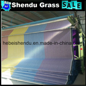 Rainbow Artificial Grass with Different Height pictures & photos
