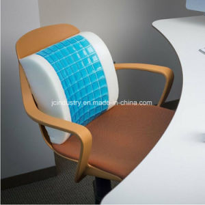 Memory Foam Lumbar Cushion with Breathable Cover pictures & photos
