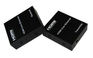 120m HDMI Extender Over TCP/IP with IR Remote Control pictures & photos