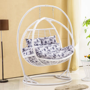 2017 New Double Swing Swing, Rattan Furniture, Rattan Basket (D157) pictures & photos