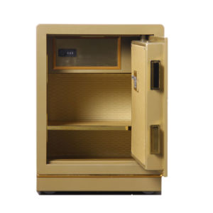 Security Home Safe Box with Digital Lock-Champagne Gold Seriers Fdx A1/D 50y pictures & photos