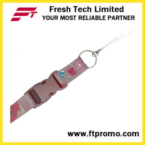 Made in China Cheapest Polyester Lanyard with Your Logo pictures & photos
