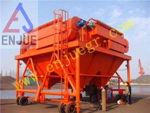 Fixed Hopper with Dust Catcher Rail-Mounted Dust-Proof Hopper pictures & photos