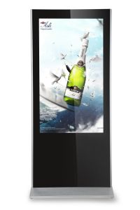 with LG IPS Display-LCD Display Totem-Standalone Kiosk pictures & photos