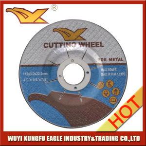 High Quality Abrasive Cutting Dis for Metal 115*3*22.2mm pictures & photos
