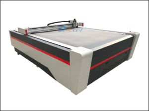 High Density PVC Sheet Cutter Digital Printing Foam Board Oscillation Cutting CNC Machine pictures & photos
