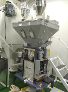 Granules/Additives/Masterbatch Gravimteric Dosing and Mixing Machine pictures & photos