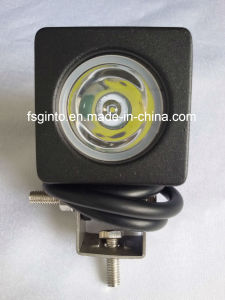 Auto Parts 10W LED Work Light Car/Motorcycle Spot Lighting for Truck pictures & photos